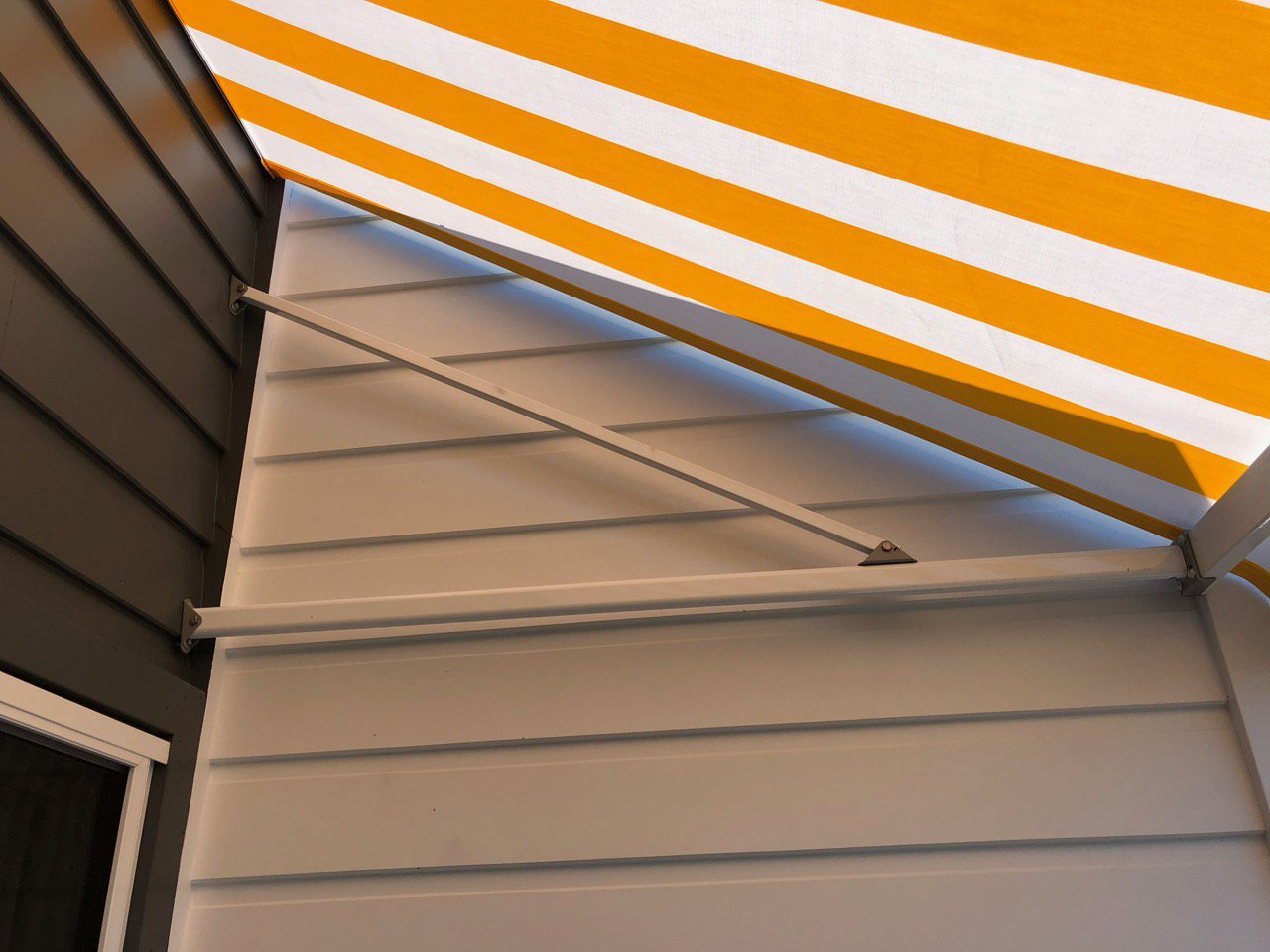 Fixed Frame Awnings Border Blinds Shutters And Awnings