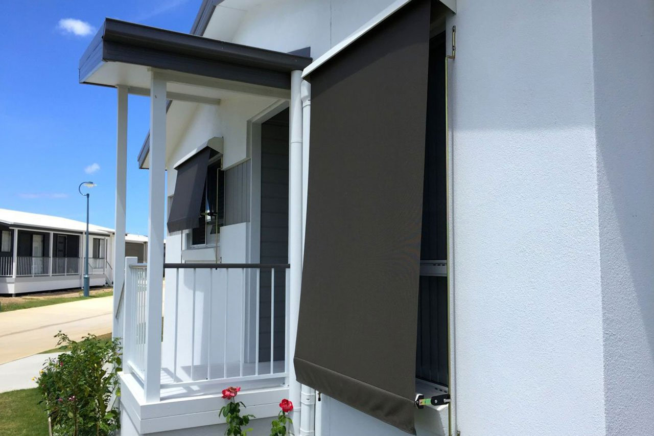 Auto Lock Awnings Border Blinds Shutters And Awnings