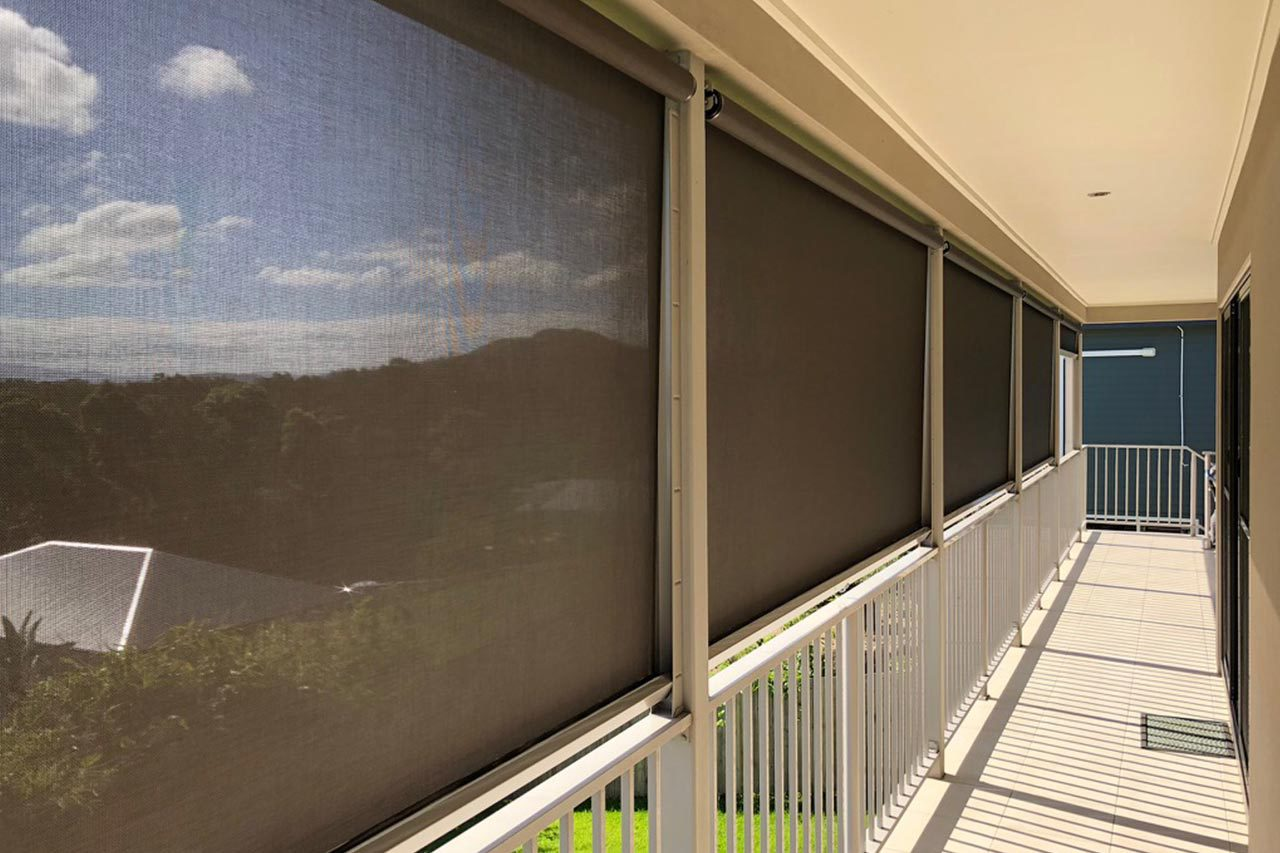 Side Channel Awnings Border Blinds Shutters And