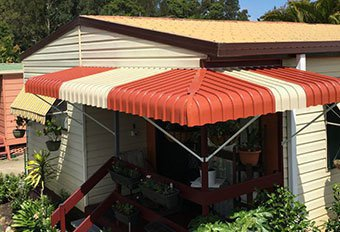 Exterior Fixed Aluminium Awnings