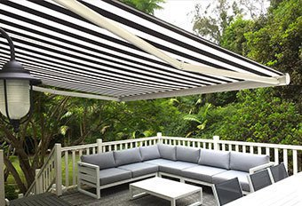 Exterior Folding Arm Awnings