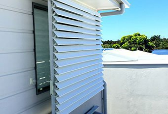 Exterior Louvered Awnings