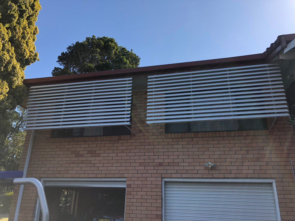Louvered Awnings Trinidad Border Blinds Shutters And